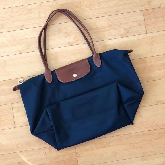 Longchamp Handbags - Longchamp Le Pliage Large Long Strap Tote Bag 125eb2fa15